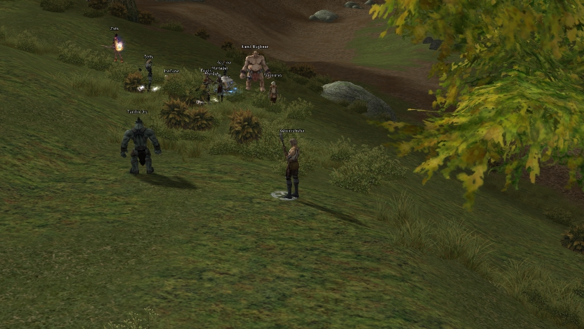 Unity clan members hunting near Hunters Village